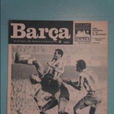 Coleccionismo deportivo: REVISTA DE FÚTBOL F.C BARCELONA BARÇA Nº 1058 AÑO 1976. Lote 105797663