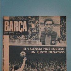Coleccionismo deportivo: REVISTA DE FÚTBOL F.C.BARCELONA BARÇA Nº 854 AÑO 1972. Lote 105798155