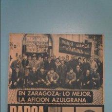 Coleccionismo deportivo: REVISTA DE FÚTBOL F.C.BARCELONA BARÇA Nº 734 AÑO 1969. Lote 105798419
