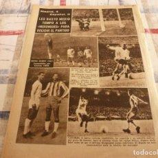 Coleccionismo deportivo: (ML)LEAN(10-59)HOJA SUELTA R.MADRID 4 ESPAÑOL 0,DI STEFANO.. Lote 105897671