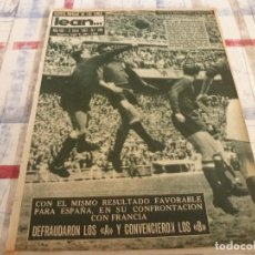 Coleccionismo deportivo: (ML)LEAN(3-4-61)ESPAÑA 2 FRANCIA 0,DI STEFANO, PELOTA VASCA,GRANOLLERS HANDBOL.. Lote 105898123