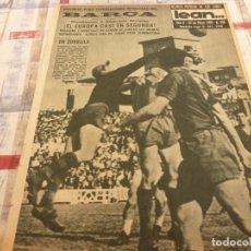 Coleccionismo deportivo: (ML)LEAN(27-5-63)VALLADOLID 2 BARÇA 1 !! EL ESPAÑOL VUELVE A PRIMERA DIVISIÓN !!BARÇA HOCKEY CAMPEON. Lote 105931575