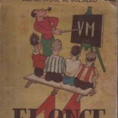 Coleccionismo deportivo: ALMANAQUE DE BOLSILLO EL ONCE 1947 - PUBLICIDAD VINO J.M RIVERO C Z - FUTBOL Y DEPORTES GRAL.. Lote 107220675