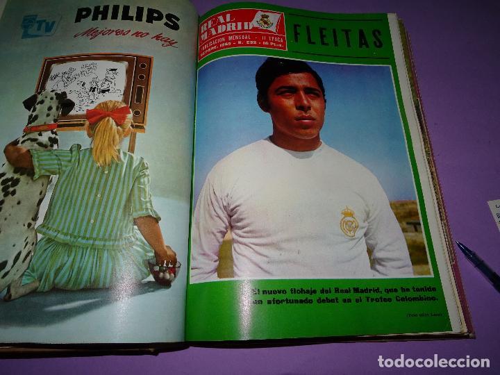 Coleccionismo deportivo: Antiguas Revistas Mensuales *REAL MADRID* desde el Nº 224 al Nº 246 - Año 1969-70 - Foto 2 - 107331763