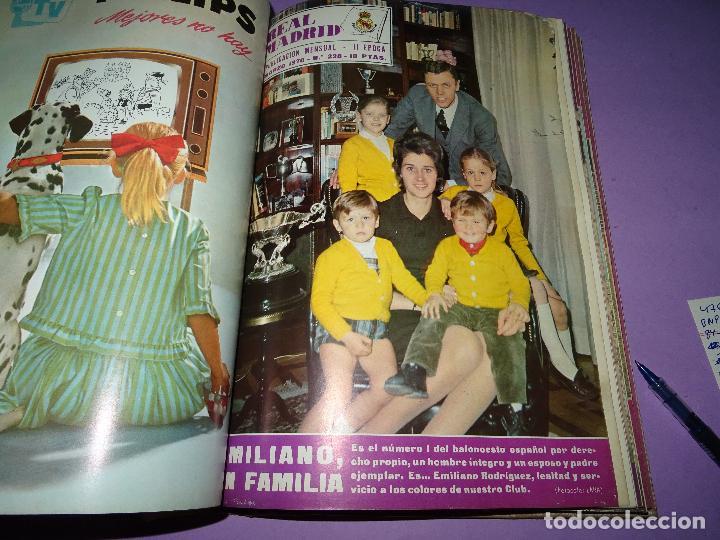 Coleccionismo deportivo: Antiguas Revistas Mensuales *REAL MADRID* desde el Nº 224 al Nº 246 - Año 1969-70 - Foto 3 - 107331763