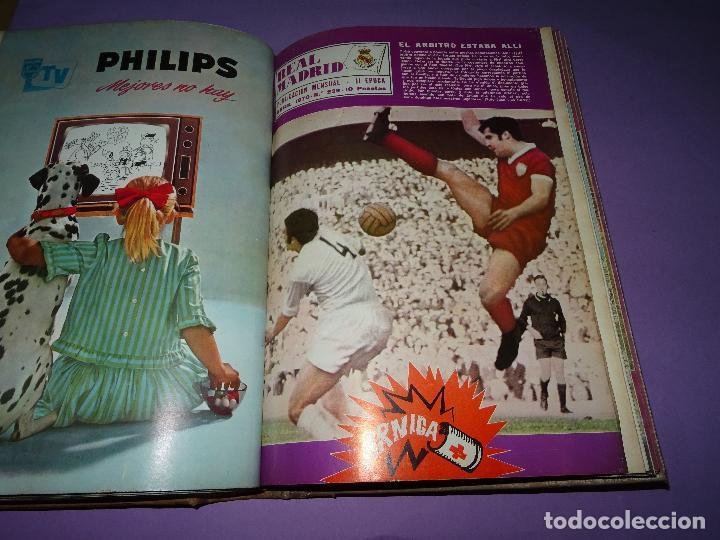 Coleccionismo deportivo: Antiguas Revistas Mensuales *REAL MADRID* desde el Nº 224 al Nº 246 - Año 1969-70 - Foto 4 - 107331763