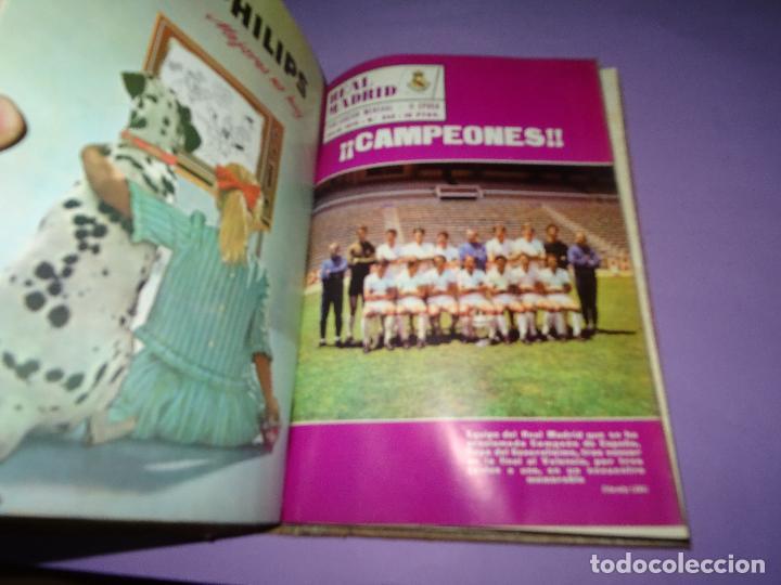Coleccionismo deportivo: Antiguas Revistas Mensuales *REAL MADRID* desde el Nº 224 al Nº 246 - Año 1969-70 - Foto 6 - 107331763