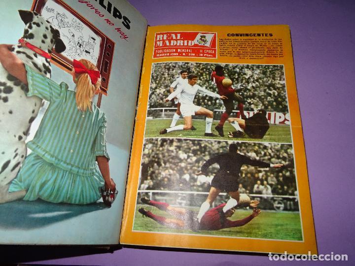 Coleccionismo deportivo: Antiguas Revistas Mensuales *REAL MADRID* desde el Nº 224 al Nº 246 - Año 1969-70 - Foto 7 - 107331763