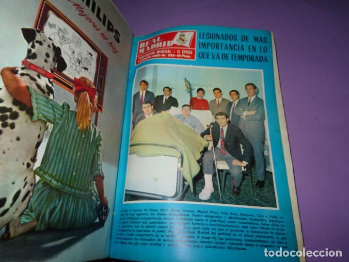 Coleccionismo deportivo: Antiguas Revistas Mensuales *REAL MADRID* desde el Nº 224 al Nº 246 - Año 1969-70 - Foto 9 - 107331763