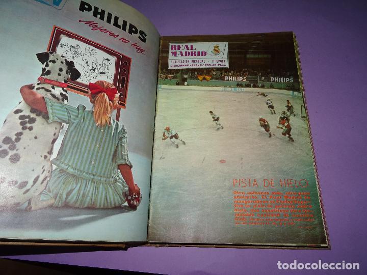 Coleccionismo deportivo: Antiguas Revistas Mensuales *REAL MADRID* desde el Nº 224 al Nº 246 - Año 1969-70 - Foto 10 - 107331763