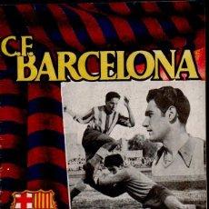 Coleccionismo deportivo: CX REVISTA DEL F.C. BARCELONA CON EL JUGADOR (PORTERO) RAMALLETS EN PORTADA - DEL 10 MAYO 1951 . Lote 107379931