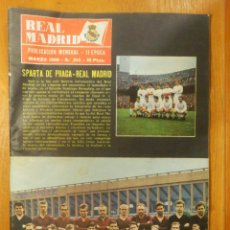 Coleccionismo deportivo: REVISTA - PUBLICACIÓN - REAL MADRID - Nº 214 - BOLETÍN INFORMATIVO - MARZO 1968 - 34 PÁGINAS. Lote 107851291