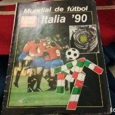 Coleccionismo deportivo: EL CORREO ESPAÑOL EL PUEBLO VASCO ESPECIAL MUNDIAL DE FUTBOL ITALIA 90 SELECCION ESPAÑOLA MARADONA. Lote 107857219