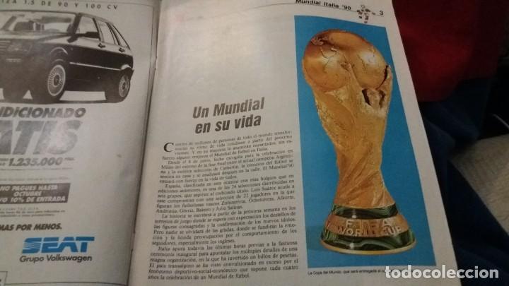 Coleccionismo deportivo: EL CORREO ESPAÑOL EL PUEBLO VASCO ESPECIAL MUNDIAL DE FUTBOL ITALIA 90 SELECCION ESPAÑOLA MARADONA - Foto 7 - 107857219
