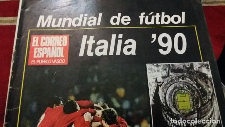 Coleccionismo deportivo: EL CORREO ESPAÑOL EL PUEBLO VASCO ESPECIAL MUNDIAL DE FUTBOL ITALIA 90 SELECCION ESPAÑOLA MARADONA - Foto 11 - 107857219