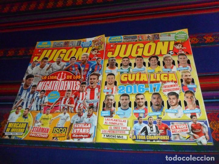 JUGÓN 117, 118 GUÍA LIGA 2016 17, 123 MERCADO INVIERNO Y ACTUALIZACIÓN, 146 MERCADO INVIERNO 2018 19 (Coleccionismo Deportivo - Revistas y Periódicos - otros Fútbol)