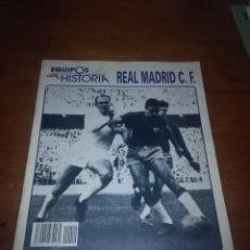 Coleccionismo deportivo: FASCICULO Nº 10. EQUIPOS CON HISTORIA REAL MADRID C.F. B11R. Lote 107950447