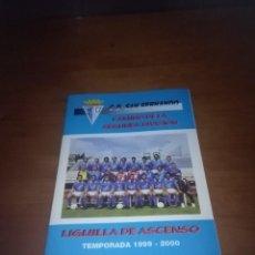Coleccionismo deportivo: C.D. SAN FERNANDO. CAMINO DE LA SEGUNDA DIVISIÓN. LIGUILLA DE ASCENSO. TEMPORADA 1999 2000. B11R. Lote 112567731