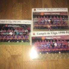 Coleccionismo deportivo: RECORTES PLANTILLA FC BARCELONA DREAM TEAM. Lote 116875767