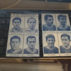Coleccionismo deportivo: FUTBOL JUGADOR ES BARCELONA CLUB RAMALLETS ESTREMS OLIVELLA RODRI KUBALA SUAREZ COLL CSIBOR. Lote 108569007