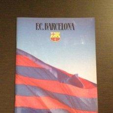 Coleccionismo deportivo: REVISTA DOSIER FUTBOL CLUB BARCELONA BARÇA AÑO 1986 36 PAGINAS CAMPO HISTORIA SOCIOS PEÑAS COPA. Lote 109050899