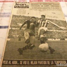 Coleccionismo deportivo: (ML)LEAN(28-3-60)BETIS 0 BARÇA 2,ESPAÑOL 3 SEVILLA 1,HOSPITALET 3 MATARÓ 0.. Lote 109182379