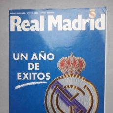 Coleccionismo deportivo: REAL MADRID. UN AÑO DE ÉXITOS. AÑO 1990.. Lote 109183739