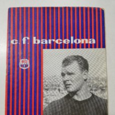 Coleccionismo deportivo: PROGRAMA FC BARCELONA CF VS. REAL MADRID LIGA TEMPORADA 1960-61 NÚMERO 162 KUBALA. Lote 109466335