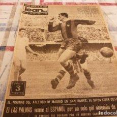 Coleccionismo deportivo: (ML)LEAN(1-1-58)RIBELLES,BARÇA 1 VALENCIA 1,LUIS SUAREZ Y TEJADA,. Lote 109515367
