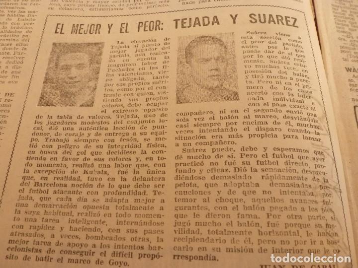 Coleccionismo deportivo: (ML)LEAN(1-1-58)RIBELLES,BARÇA 1 VALENCIA 1,LUIS SUAREZ Y TEJADA, - Foto 3 - 109515367