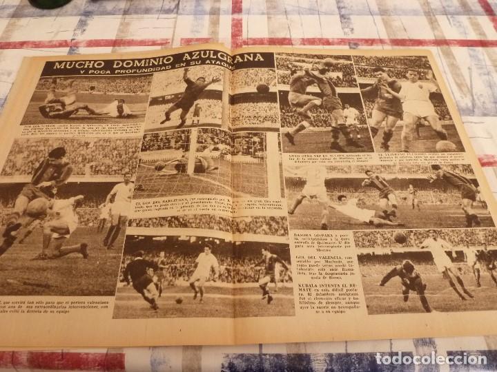 Coleccionismo deportivo: (ML)LEAN(1-1-58)RIBELLES,BARÇA 1 VALENCIA 1,LUIS SUAREZ Y TEJADA, - Foto 5 - 109515367