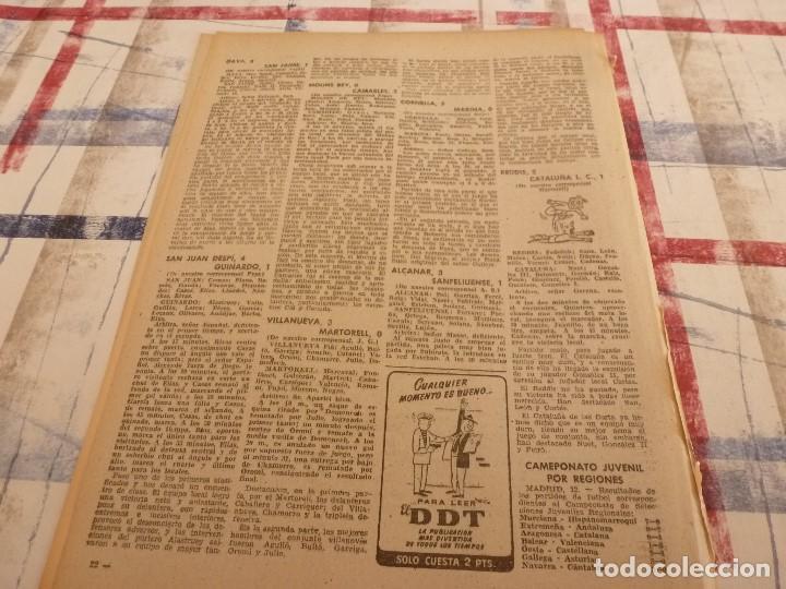 Coleccionismo deportivo: (ML)LEAN(1-1-58)RIBELLES,BARÇA 1 VALENCIA 1,LUIS SUAREZ Y TEJADA, - Foto 6 - 109515367