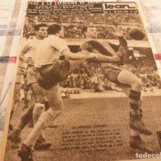 Coleccionismo deportivo: (ML)LEAN(20-1-58)BARÇA 2 LAS PALMAS 0,KUBALA Y PADRÓN,CLUB VASCONIA,BASORA CUELGA BOTAS. Lote 109515671