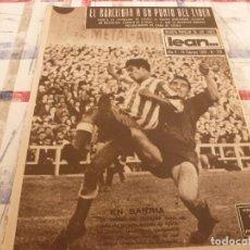 Coleccionismo deportivo: (ML)LEAN(10-2-58)R.SOCIEDAD 1 BARÇA 2,ANTONIO JULIÁ DE CAPMANY,R.S.D.ESPAÑOL 2 OSASUNA 0. Lote 109516387