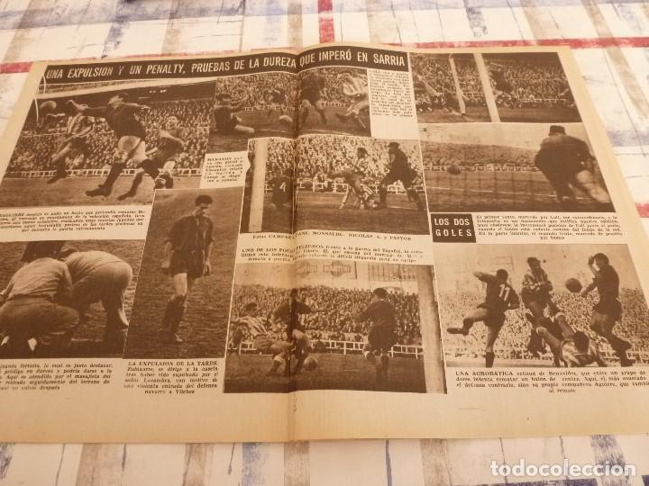 Coleccionismo deportivo: (ML)LEAN(10-2-58)R.SOCIEDAD 1 BARÇA 2,ANTONIO JULIÁ DE CAPMANY,R.S.D.ESPAÑOL 2 OSASUNA 0 - Foto 4 - 109516387