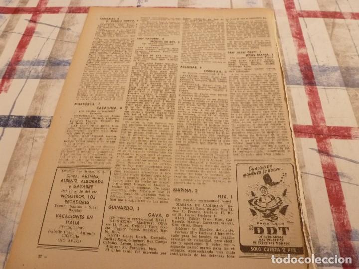 Coleccionismo deportivo: (ML)LEAN(10-2-58)R.SOCIEDAD 1 BARÇA 2,ANTONIO JULIÁ DE CAPMANY,R.S.D.ESPAÑOL 2 OSASUNA 0 - Foto 5 - 109516387
