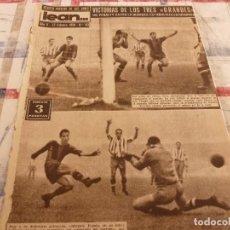 Coleccionismo deportivo: (ML)LEAN(17-2-58)BARÇA 3 GIJÓN 0,SANCHEZ Y TEJADA,CZIBOR,BULGARIA 51 ESPAÑA 39 EN MONTJUICH. Lote 109517343