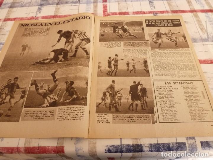Coleccionismo deportivo: (ML)LEAN(17-2-58)BARÇA 3 GIJÓN 0,SANCHEZ Y TEJADA,CZIBOR,BULGARIA 51 ESPAÑA 39 EN MONTJUICH - Foto 4 - 109517343