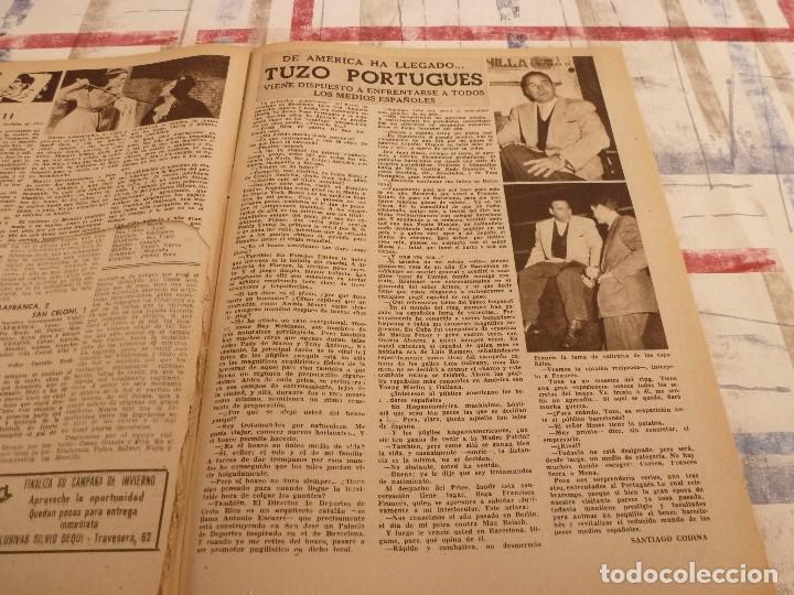 Coleccionismo deportivo: (ML)LEAN(17-2-58)BARÇA 3 GIJÓN 0,SANCHEZ Y TEJADA,CZIBOR,BULGARIA 51 ESPAÑA 39 EN MONTJUICH - Foto 6 - 109517343