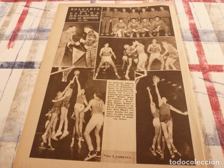 Coleccionismo deportivo: (ML)LEAN(17-2-58)BARÇA 3 GIJÓN 0,SANCHEZ Y TEJADA,CZIBOR,BULGARIA 51 ESPAÑA 39 EN MONTJUICH - Foto 7 - 109517343