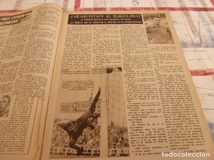 Coleccionismo deportivo: (ML)LEAN(3-3-58)ARAQUISTAIN AL BARÇA?BILBAO 4 BARÇA 1,ESPAÑOL 2 SEVILLA 3 - Foto 3 - 109517543