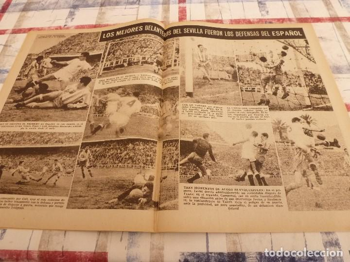 Coleccionismo deportivo: (ML)LEAN(3-3-58)ARAQUISTAIN AL BARÇA?BILBAO 4 BARÇA 1,ESPAÑOL 2 SEVILLA 3 - Foto 4 - 109517543