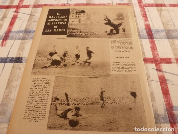 Coleccionismo deportivo: (ML)LEAN(3-3-58)ARAQUISTAIN AL BARÇA?BILBAO 4 BARÇA 1,ESPAÑOL 2 SEVILLA 3 - Foto 6 - 109517543
