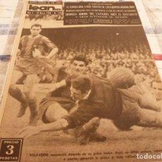 Coleccionismo deportivo: (ML)LEAN(10-3-58)VALENCIA 2 ESPAÑOL 1,BARÇA 7 VALLADOLID 1,LUIS SUAREZ,BADENES Y RICARDO.. Lote 109517715