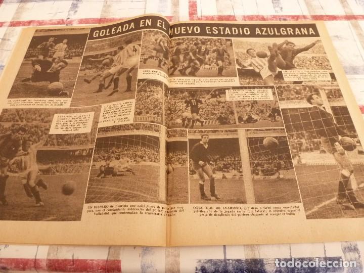 Coleccionismo deportivo: (ML)LEAN(10-3-58)VALENCIA 2 ESPAÑOL 1,BARÇA 7 VALLADOLID 1,LUIS SUAREZ,BADENES Y RICARDO. - Foto 5 - 109517715