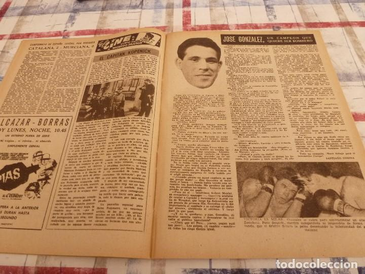 Coleccionismo deportivo: (ML)LEAN(10-3-58)VALENCIA 2 ESPAÑOL 1,BARÇA 7 VALLADOLID 1,LUIS SUAREZ,BADENES Y RICARDO. - Foto 6 - 109517715