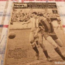 Coleccionismo deportivo: (ML)LEAN(17-3-58)ESPAÑOL 2 TARRASA 2,GIRONA 1 BARÇA 3,SANTAMARIA(RACING)LA 3ª DIVISION.. Lote 109518235