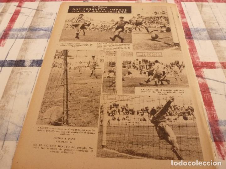 Coleccionismo deportivo: (ML)LEAN(17-3-58)ESPAÑOL 2 TARRASA 2,GIRONA 1 BARÇA 3,SANTAMARIA(RACING)LA 3ª DIVISION. - Foto 7 - 109518235