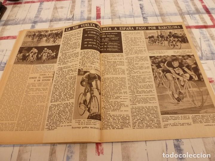 Coleccionismo deportivo: (ML)LEAN(5-5-58)BILBAO 3 ESPAÑOL 2,BARÇA 4 GRANADA 1,BASORA Y COQUE,XXIII VUELTA CICLISTA BARCELONA - Foto 6 - 109519379
