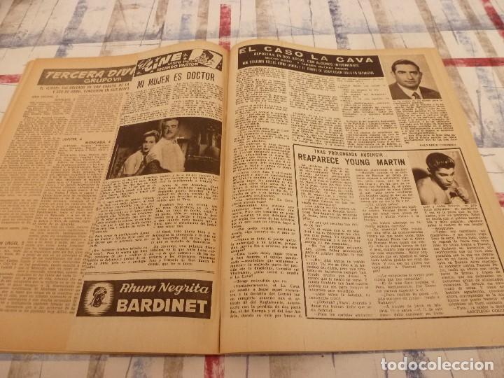 Coleccionismo deportivo: (ML)LEAN(5-5-58)BILBAO 3 ESPAÑOL 2,BARÇA 4 GRANADA 1,BASORA Y COQUE,XXIII VUELTA CICLISTA BARCELONA - Foto 7 - 109519379